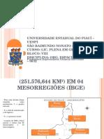 O Piauí em Mesorregiões.ppt