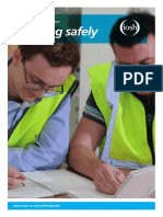 IOSH Working Safely Leaflet for Training Providers