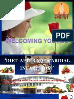 Diet After Myocadial Infarction