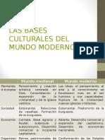 Las Bases Culturales Del Mundo Moderno (1)