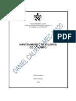 Evidencia 071-Arquitectura de La Impresora de Inyeccion de Tinta