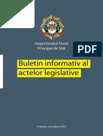 Buletin Informativ Al Actelor Legislative - Octombrie2013 (1)
