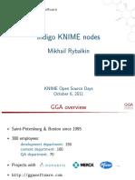 Indigo KNIME Nodes