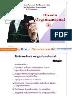 Diseño Organizacional 2