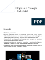 Metodologias en Ecologia Industrial