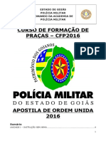 Apostila Cfp Ordem Unida 2016 Ok