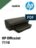 Manual HP 7110