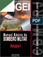 MANUAL BÁSICO DE BOMBEIRO MILITAR DO RJ - Volume 1 - Com Sumrio