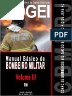 MANUAL BÁSICO BOMBEIRO MILITAR DO RJ - Volume 3 Parte 1