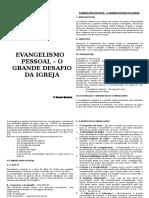 Evangelismo Pessoal