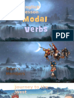 Comments Modal Verbs