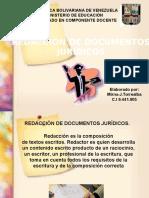 Redaccin de Documentos Jurdico16