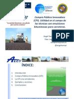 J2_8_Compra Publica Innovadora. Utilidad en El Campo de Las Tecnicas Con Emulsiones Bituminosas Para Carreteras_Sampedro