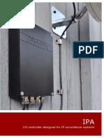 I O Controller Designed for IP Surveillance Systems