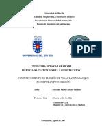 2007 Comportamiento en Flexión de Vigas Laminadas Pino Oregon-Chile