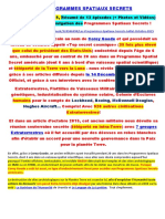 Les Programmes Spatiaux Secrets-Juillet-Octobre-2015