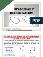 Estabilidad y Determinación estructuras
