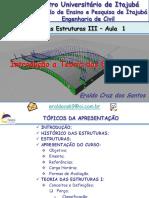 Teoria Das Estruturas I - FEPI - 1 Aula - Introdução