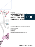 IMPLEMENTATION AND ANALYSIS OF REAL-TIME OBJECT TRACKING ON THE STARBURST MPSOC