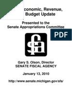 State Budget Presentation 011310