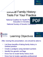 Family History Competencies