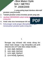 9. Soal Fisika Optik Blok 2