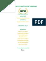 Universidad Tecnológica de Honduras-Informe