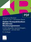 [Gabl.] Becker u.a., Gabler Kompaktlexikon Modernes Rechnungswesen (2011)