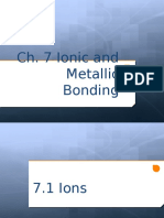 ch  7 ionic and metallic bonding