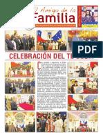 EL AMIGO DE LA FAMILIA, domingo 25 septiembre 2016.
