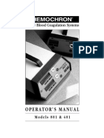 2934 Hemochron Manual
