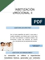 Alfabetización Emocional II