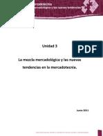 Análisis de La Mezcla Mercadologica y Nuevas Tendencias en La Mercadotecnia