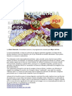 Dieta Disociada Completa Http Www Hagodieta Com PDF