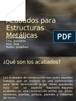 Acabados Metalicas