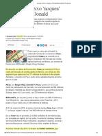 Vikingo de Oxxo 'Noquea' a Ronald McDonald _ El Financiero