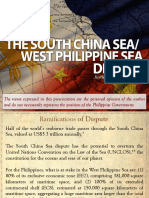 UE Caloocan South China Sea Lecture