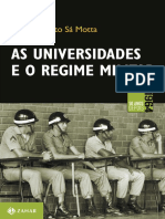 As Universidades e o Regime Militar- Rodrito Patto Sá Mota