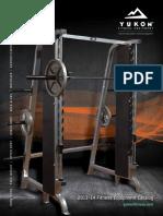 Yukon Fitness Catalog
