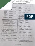 Bcic Recruitment Question 27-06-2014