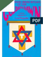 Secret Inner Order Rituals of the Golden Dawn by Patrick J. Zalewski (KnowledgeBorn Library)