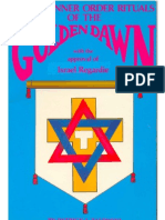 Secret Inner Order Rituals of the Golden Dawn by Patrick J. Zalewski (KnowledgeBorn Library)