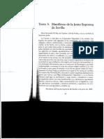 Manigfiesto Junta Suprema de Sevilla