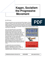 Elena Kagan, Socialism and the Progressive Movement