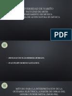 Proyecto de Investigacion Metodo guitarra, ejemplo
