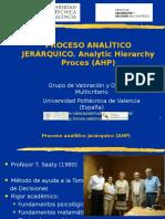 9.2. Proceso Analitico Jerarquico. AHP