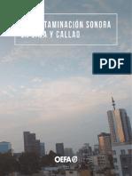 Contaminación Sonora en Lima y Callao