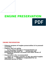 Engine Preservation for Piston Engine