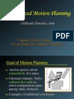 Randomized Motion Planning