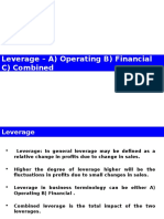 Analysis of Leverage